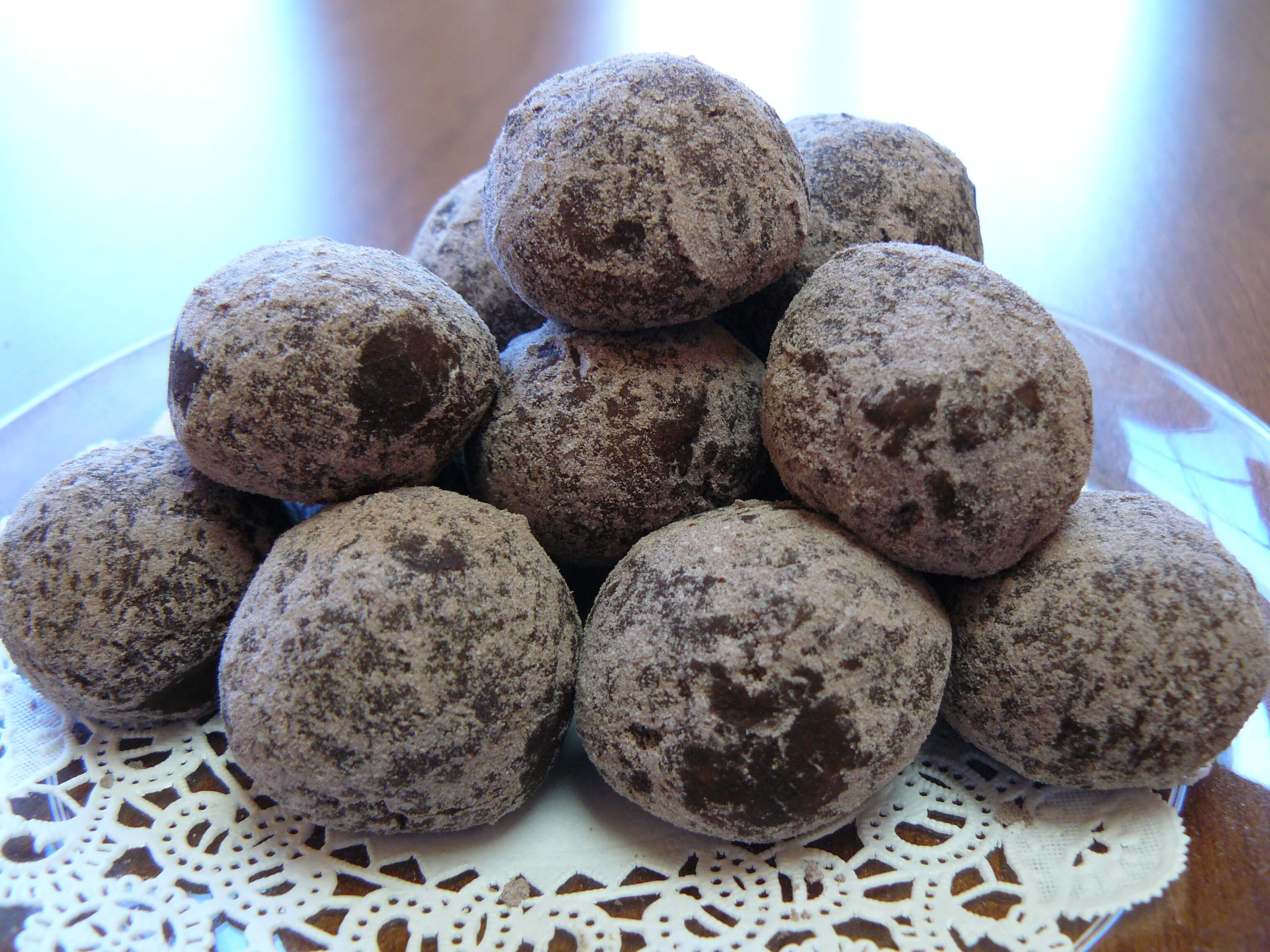 Bouncy butter bourbon balls that melt in your mouth