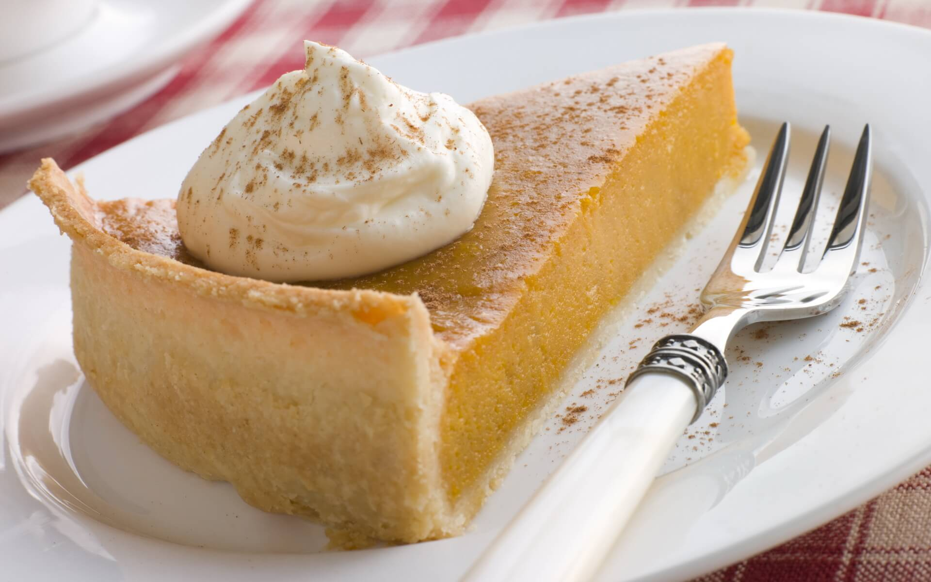 Delectable kitchen delights with pumpkin pie