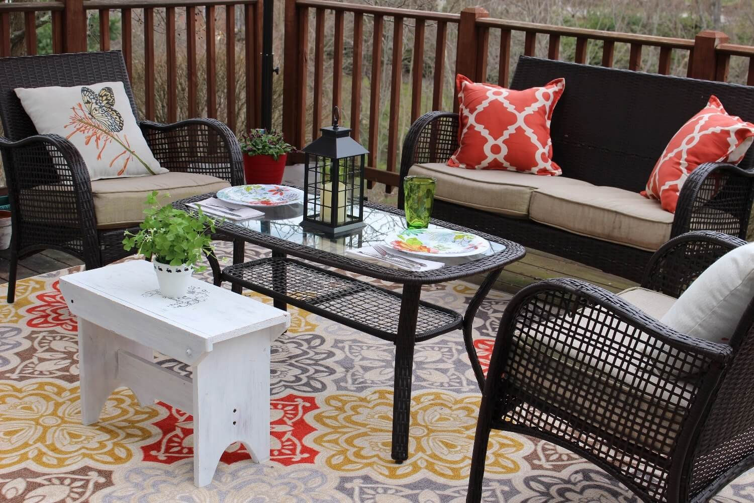 Decks are a great place to relax outside with family and friends