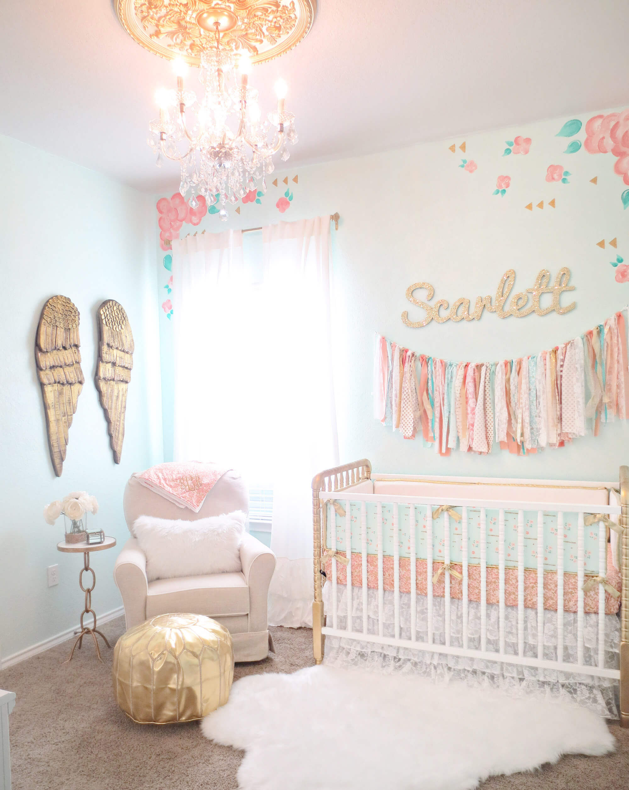 Apartment decorating for the baby