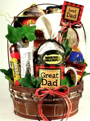 DIY Father's Day gift basket for the man of the household