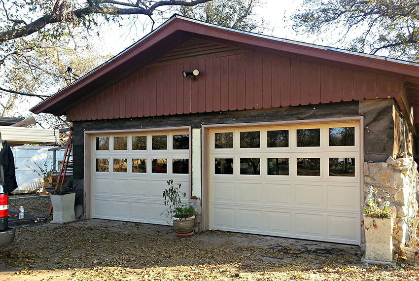 8 diy garage door updates to increase curb appeal for Clopay window inserts