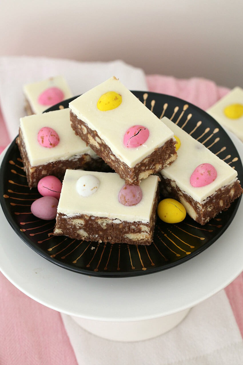 This recipe brings a fun Easter twist to a classical.