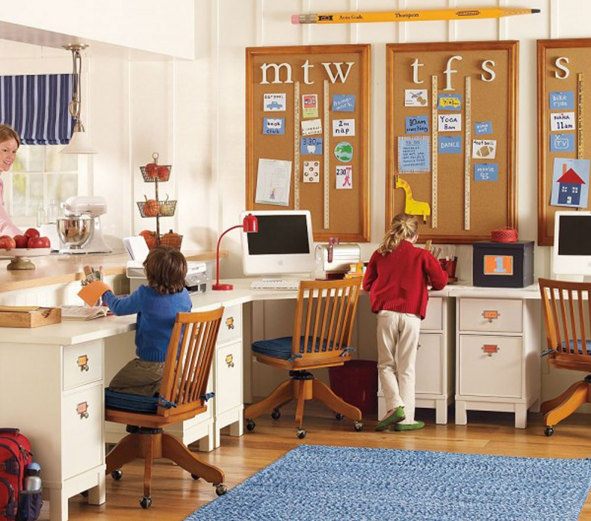 How to create a productive study space for kids for Kids study room