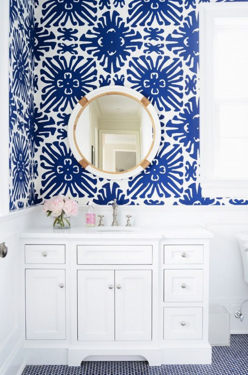Traditional Blue and White
