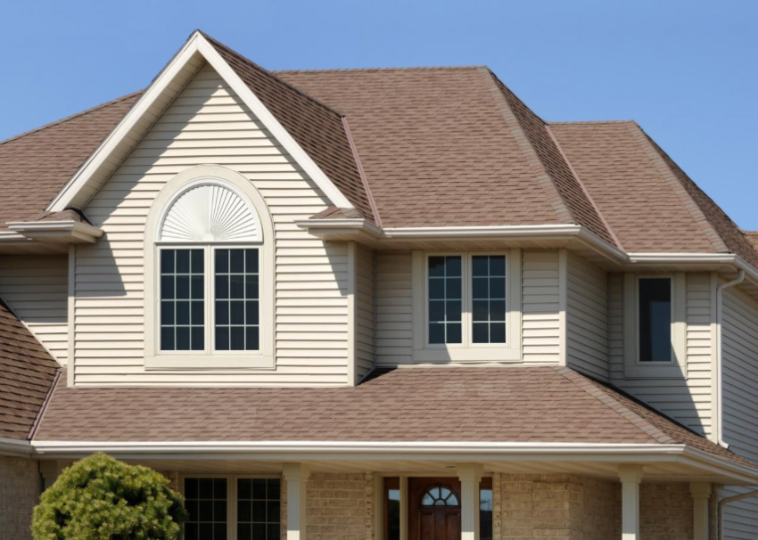 Asphalt shingles can be the perfect pick for your home. Source: HGTV