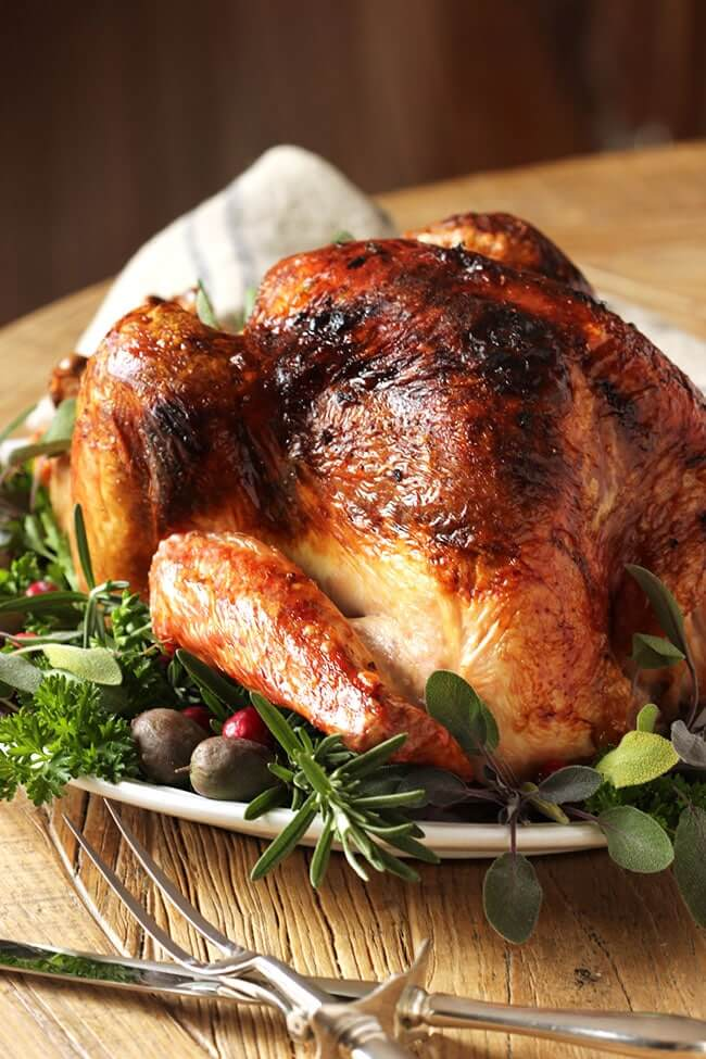 That amazing blend of citrus and herb turkey