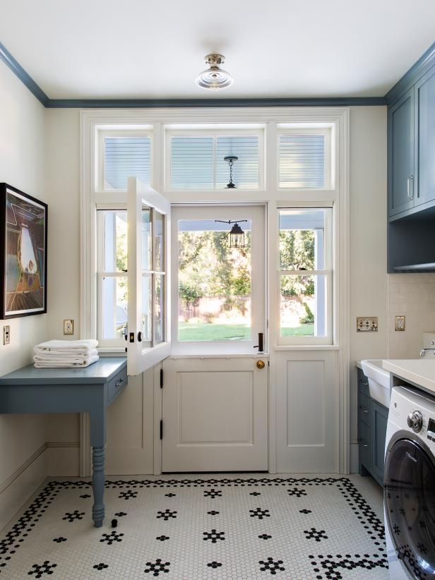 This old school tile pattern will create a gorgeous style for your home. Source: HGTV