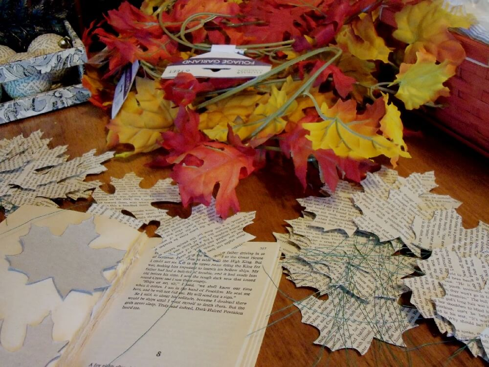 More DIY leaf decor that you can really do for real