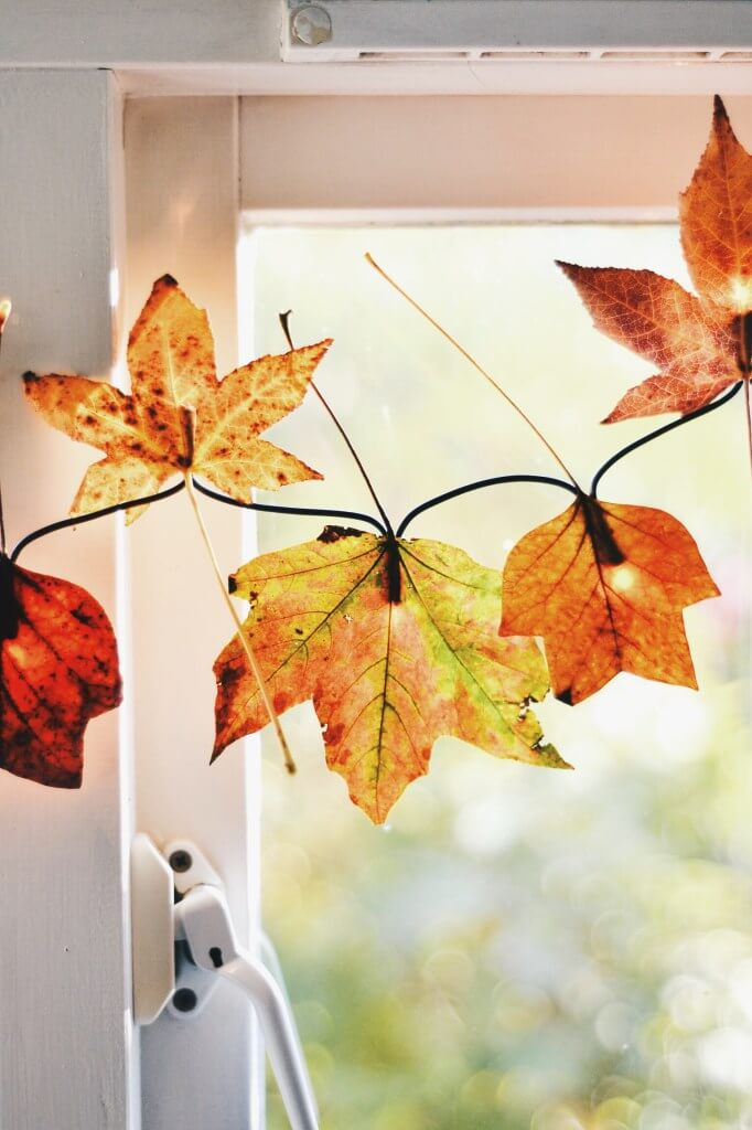 A great way to decorate for fall