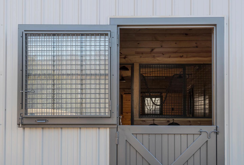 Dutch Doors with Windows