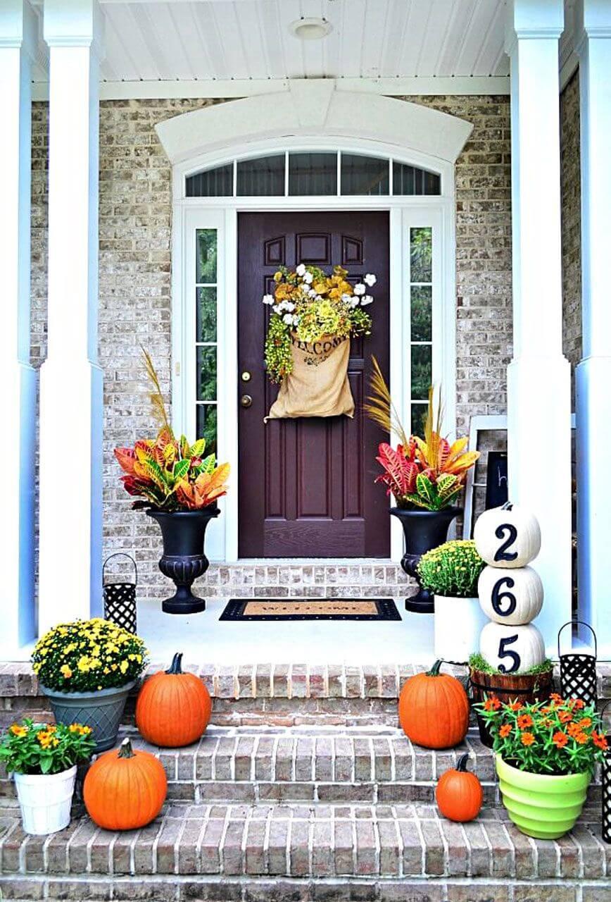 Also great front door decor ideas