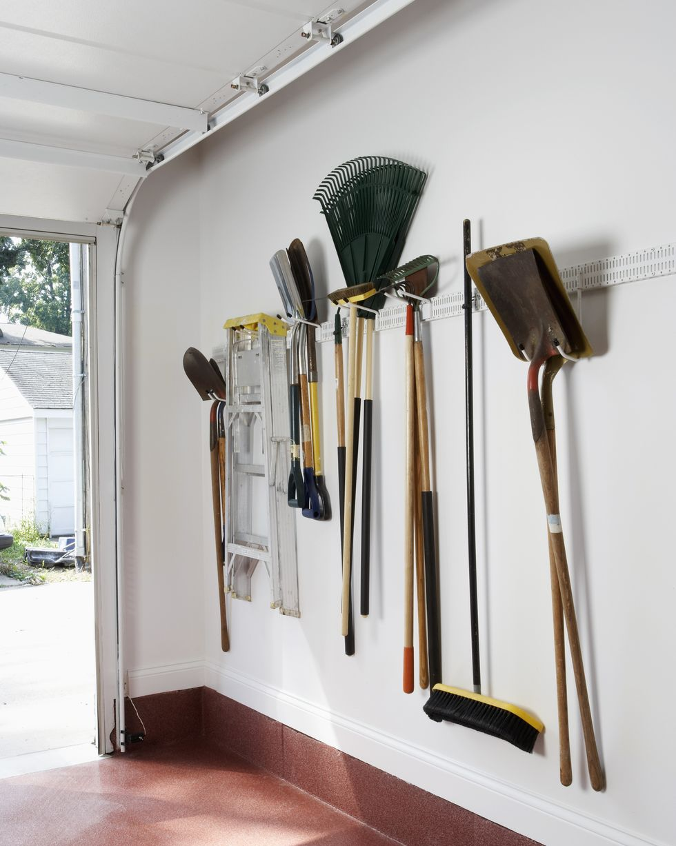 Try to keep the objects you use most at hand. Source: House Beautiful