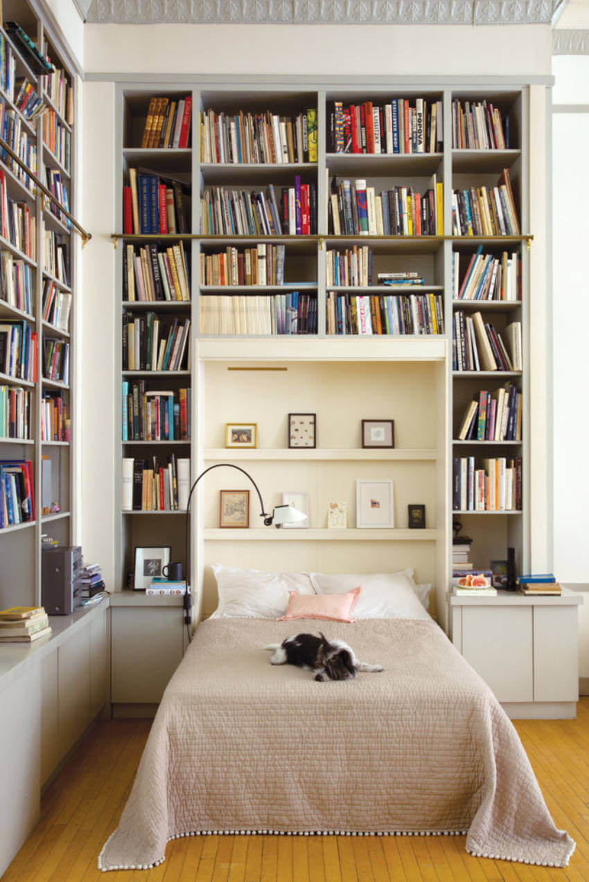 Bookcase Bedroom