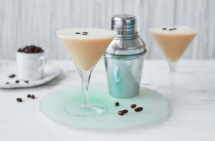 The Baileys Espresso Martini is a classy drink for St. Patrick's Day.