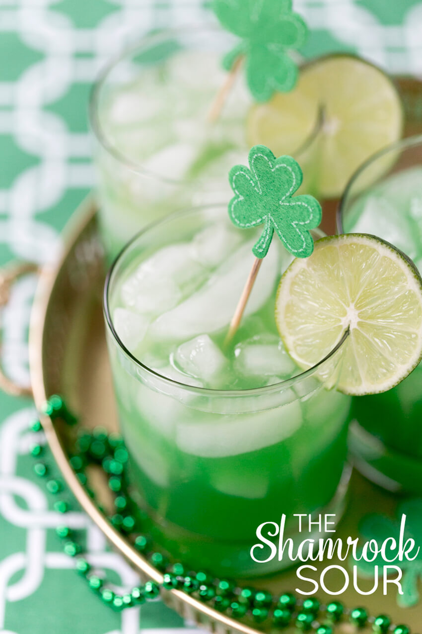 Can't have a drink list for St. Patrick's Day without a green drink, right?