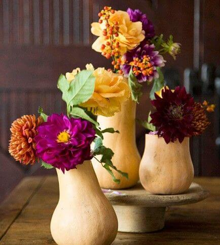 These vegetative decor objects can add a lot to the table