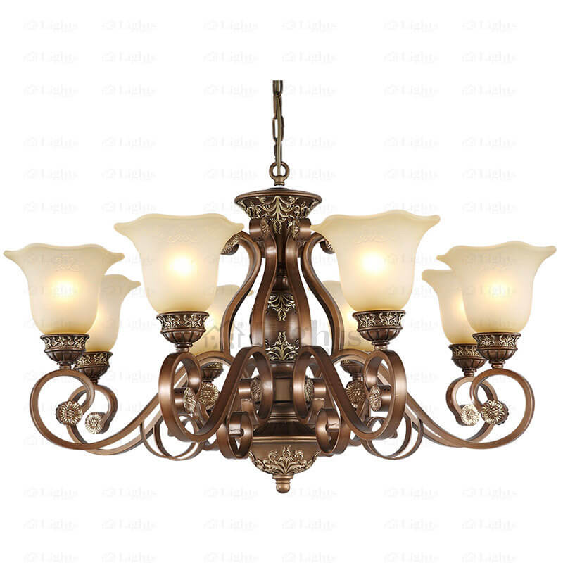 Here's a chandelier that your bedroom can benefit from!