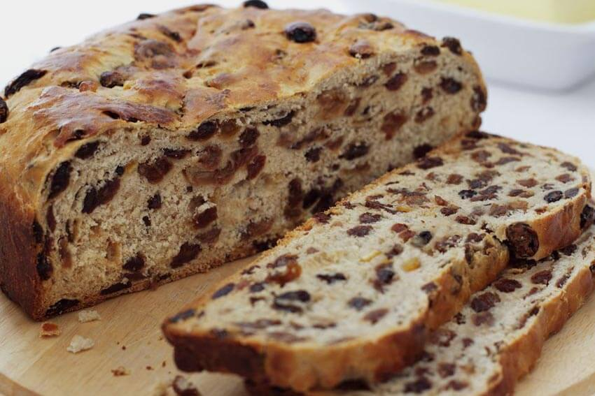 Barback is a traditional fruit cake in Ireland.
