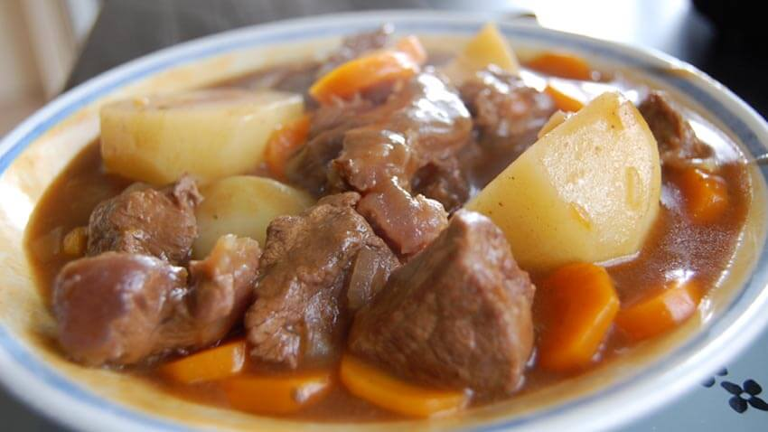 You have to have Irish stew on St. Patrick's Day!