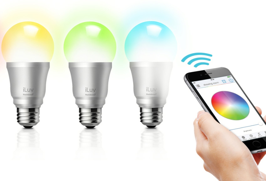 Smart bulbs can even make your home more fun. Source: Home Crux