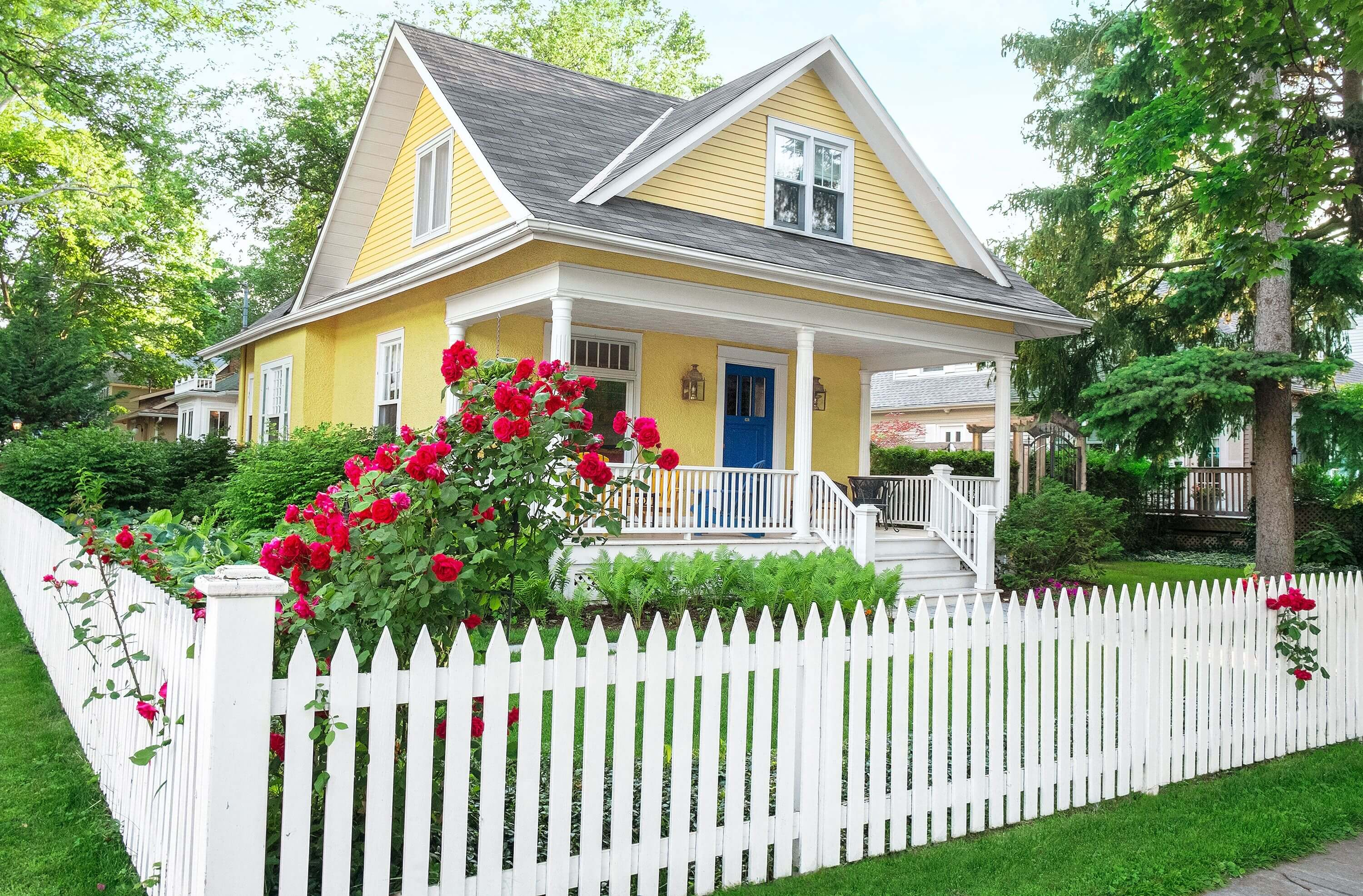 A white picket fence is the American dream
