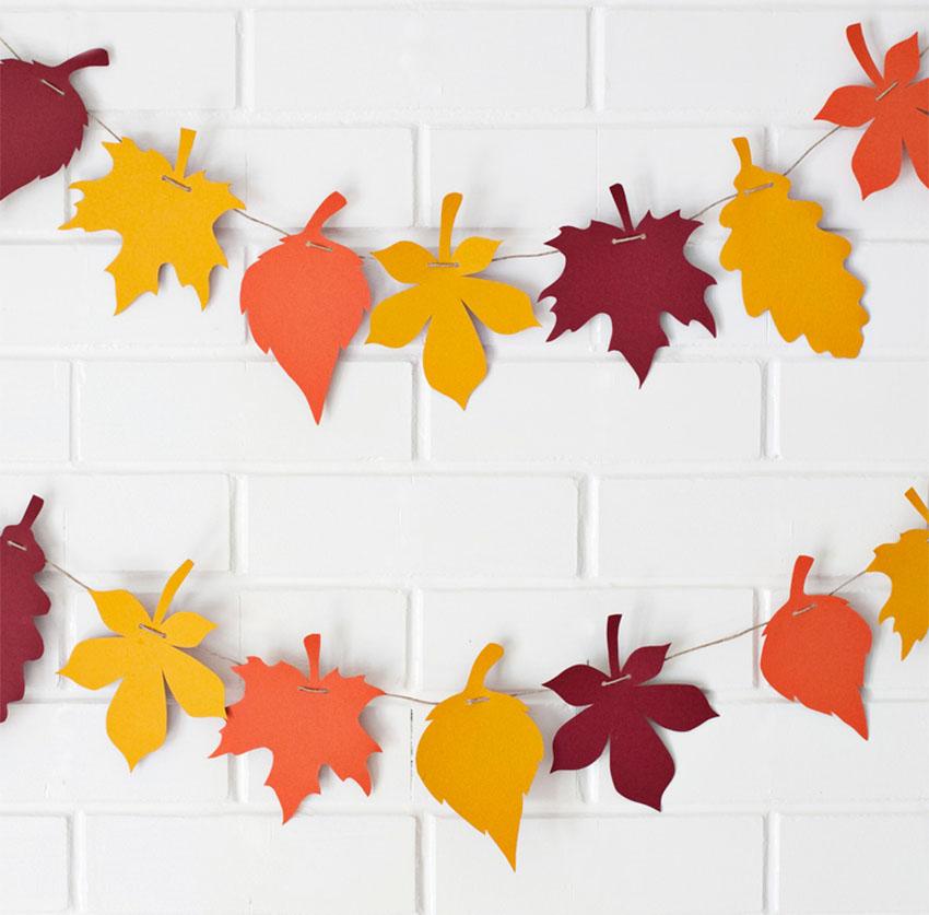 Leaf Garland Thanksgiving