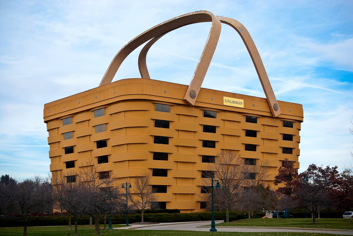 This Basket Shaped Building Is Actually Real