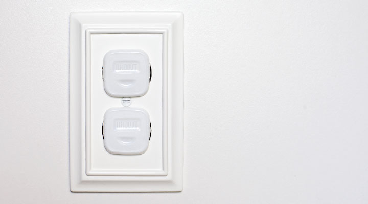 Covering outlets is essential when you have a home with babies, toddlers, and/or small children.