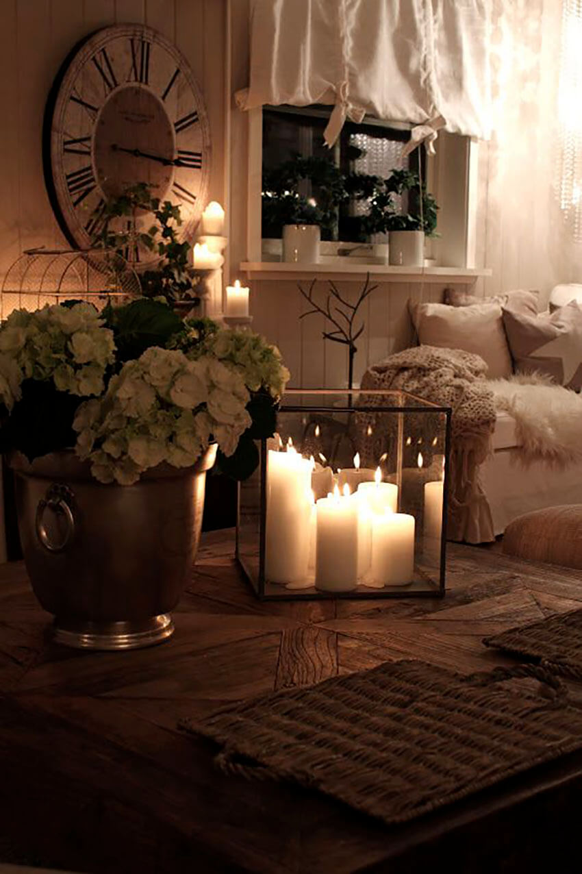 The best ways to make your bedroom extra cozy and romantic for Romantic bedroom ideas with candles