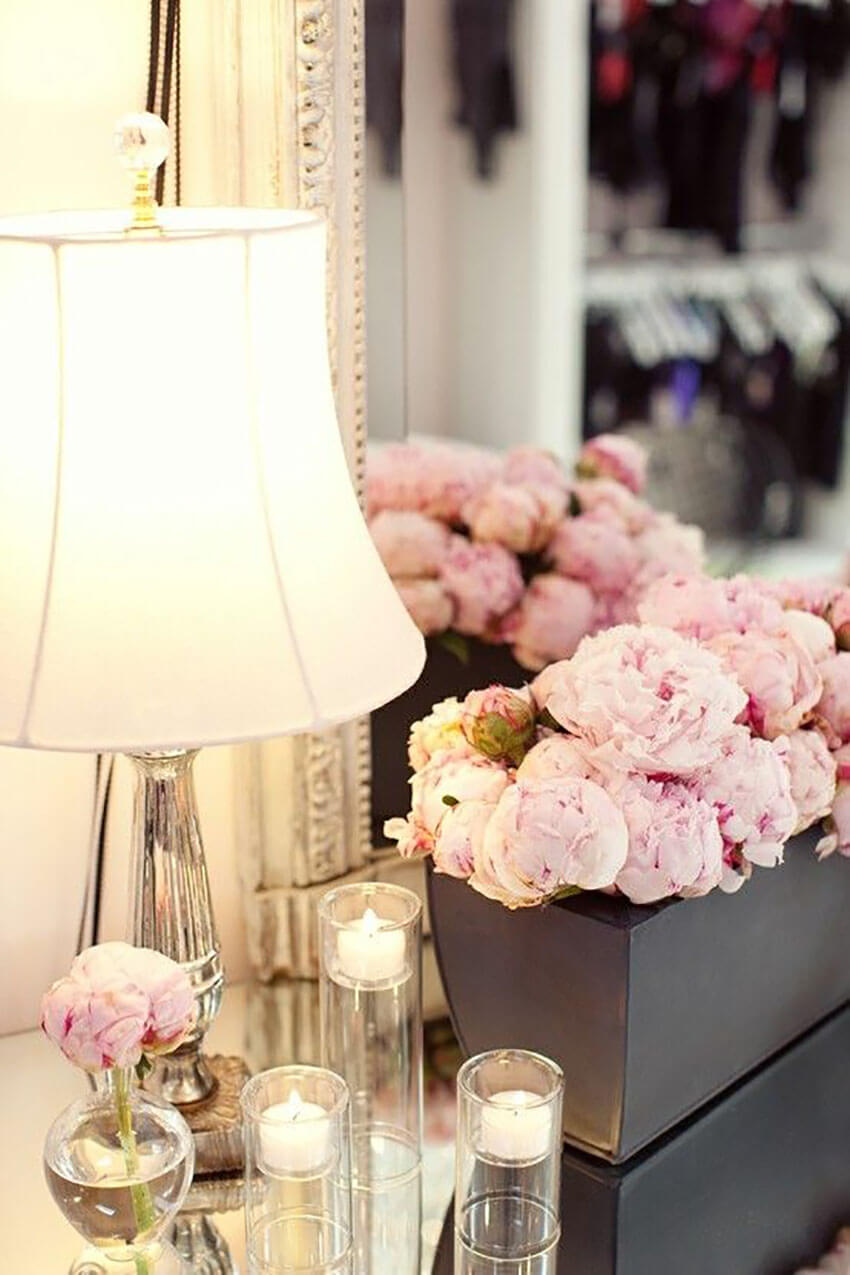 Flowers can instantly transform a space.