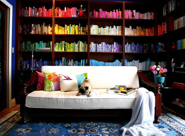 Color for when the reading is too gloomy.