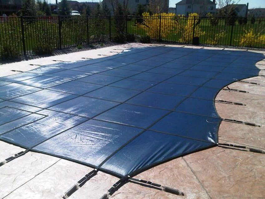 Cover your swimming pool.