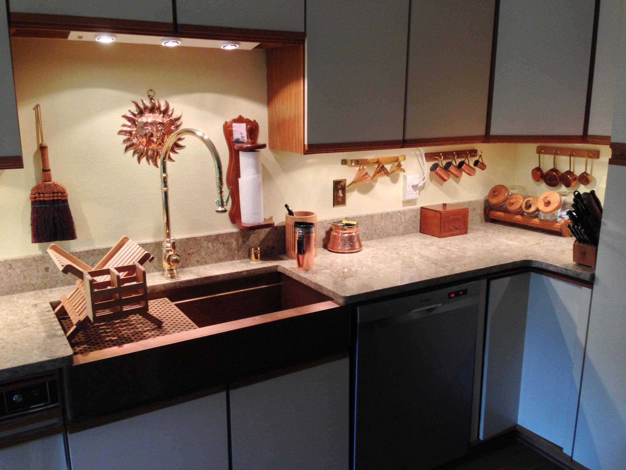 How to add copper accents to your home decor for New trends in kitchen sinks