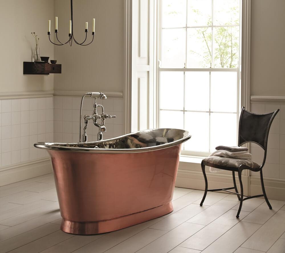 The illustrious copper bathtub