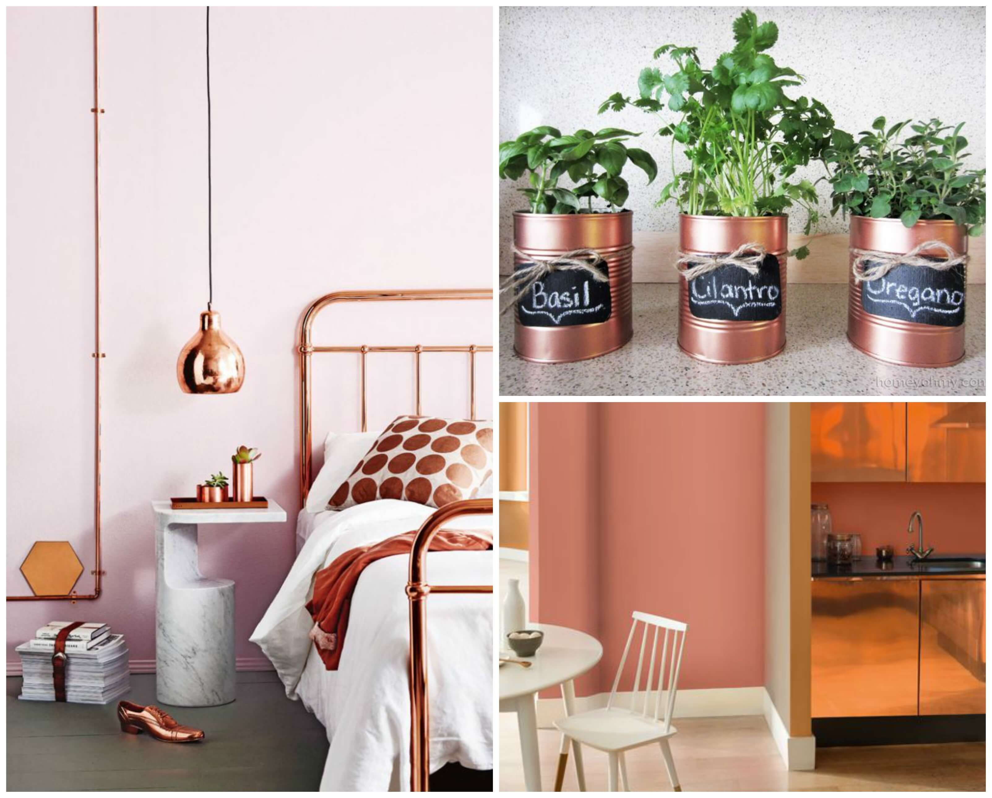 How to add copper accents to your home decor for Home decor stuff