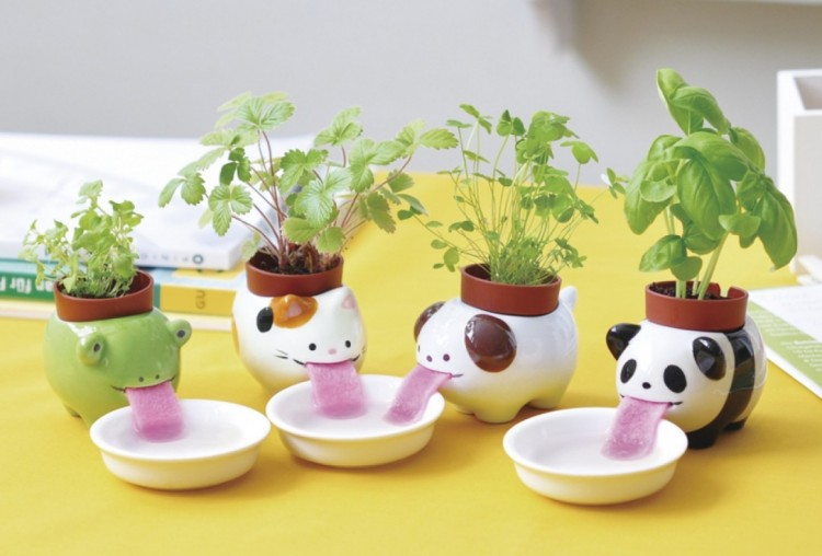 These awesome planters are a perfect gift for children, for your loved ones or for yourself. Image Source: Kid Style Junkie