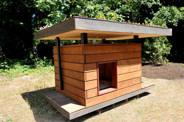 eco friendly dog house - Beautiful Dog Houses