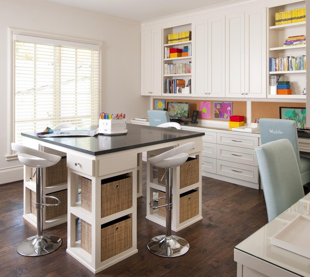 When creating a comfortable study space for your child, make sure there is plenty of light.