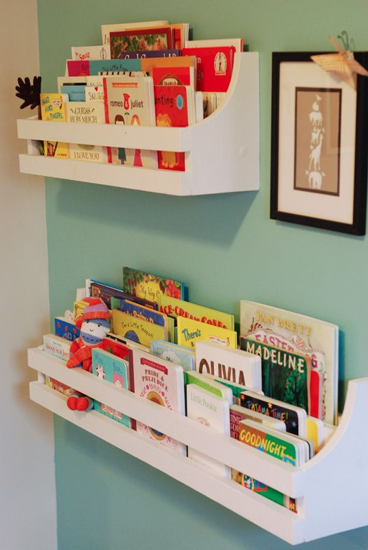 Storing and organizing books in your child's study space is essential to creating a productive atmosphere.
