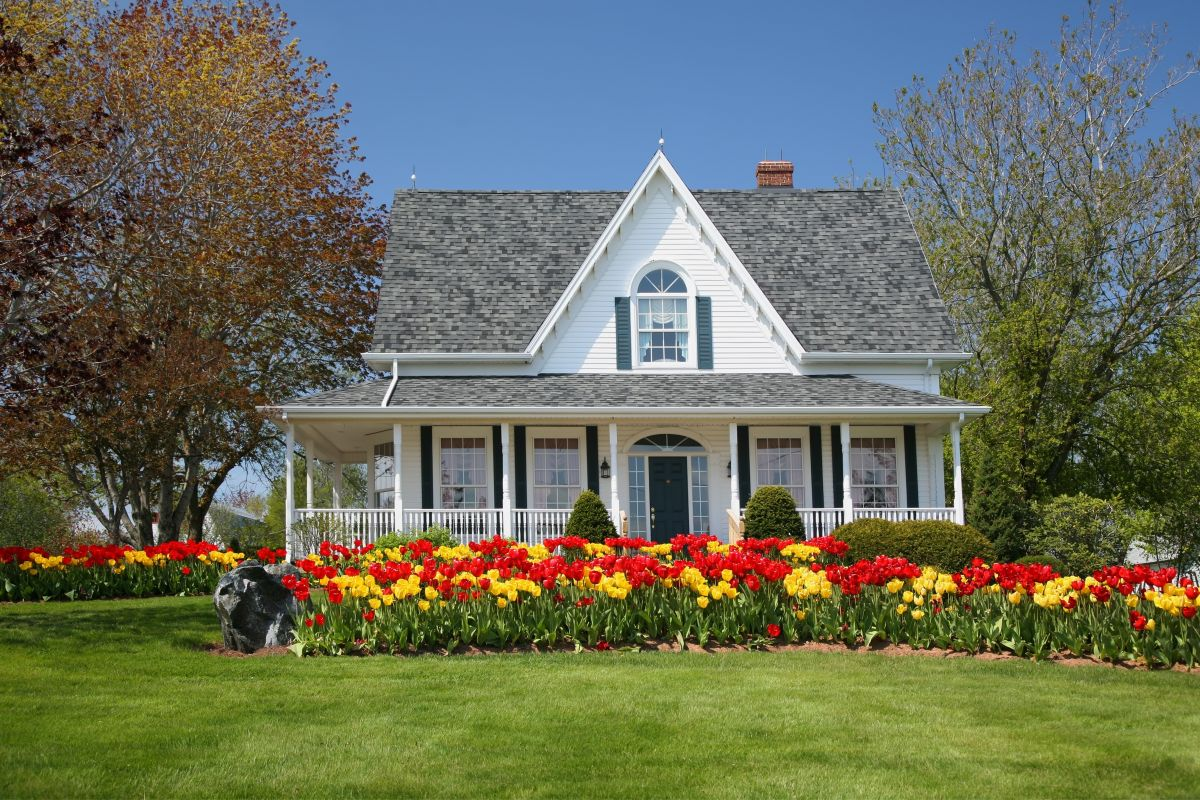 Prepare your yard for summer by planting beautiful flowers and making sure your lawn is taken care of.
