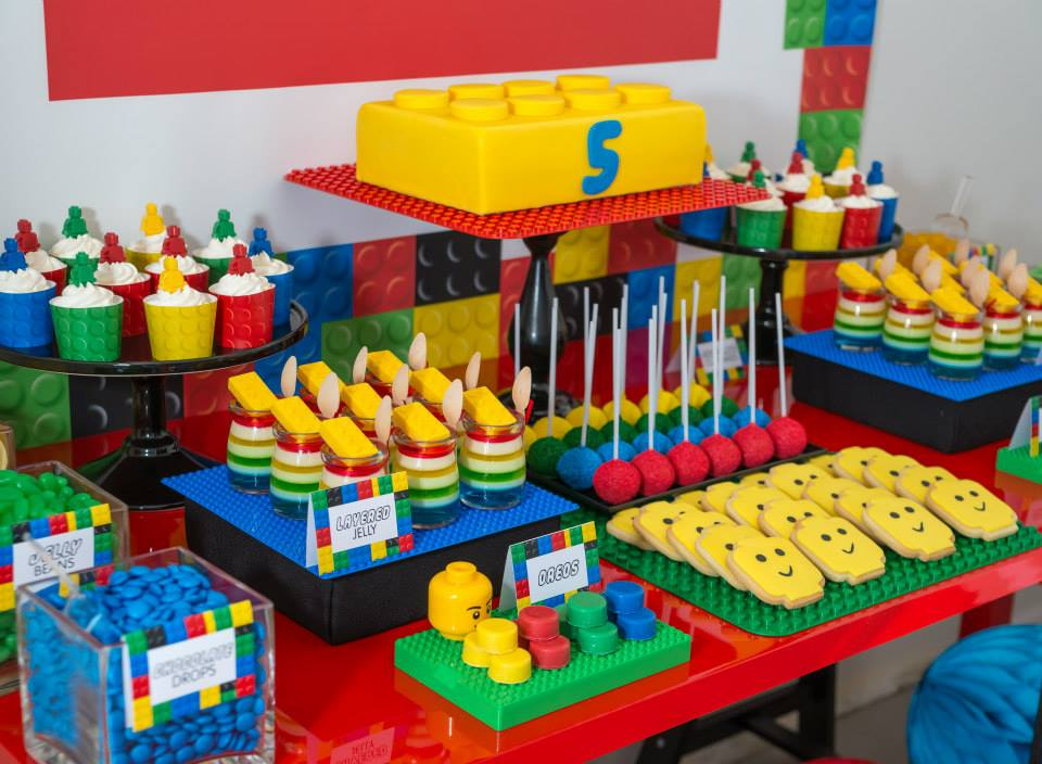 Throwing a LEGO party is an amazing thing you can do for your kids. Image Source: Little Wish Parties