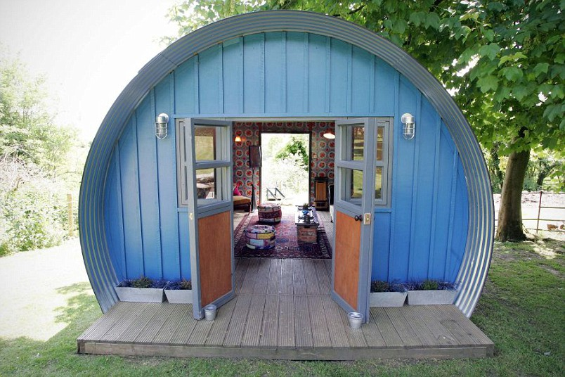 Backyard designs: sheds