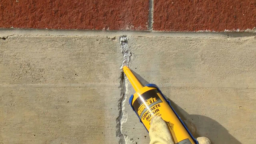 The first step to waterproofing your basement is to seal any cracks in the foundation.