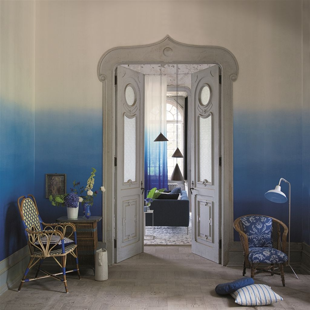 paint your room ombre