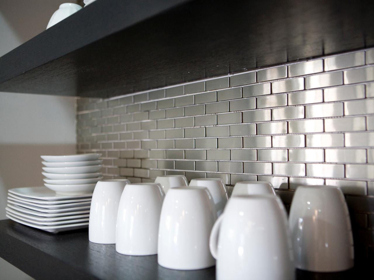 Metal tiles can be found in super stylish homes. Source: HGTV
