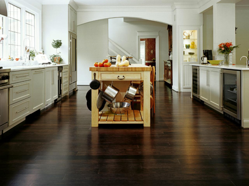 Bamboo offers many different finishes. Source: HGTV
