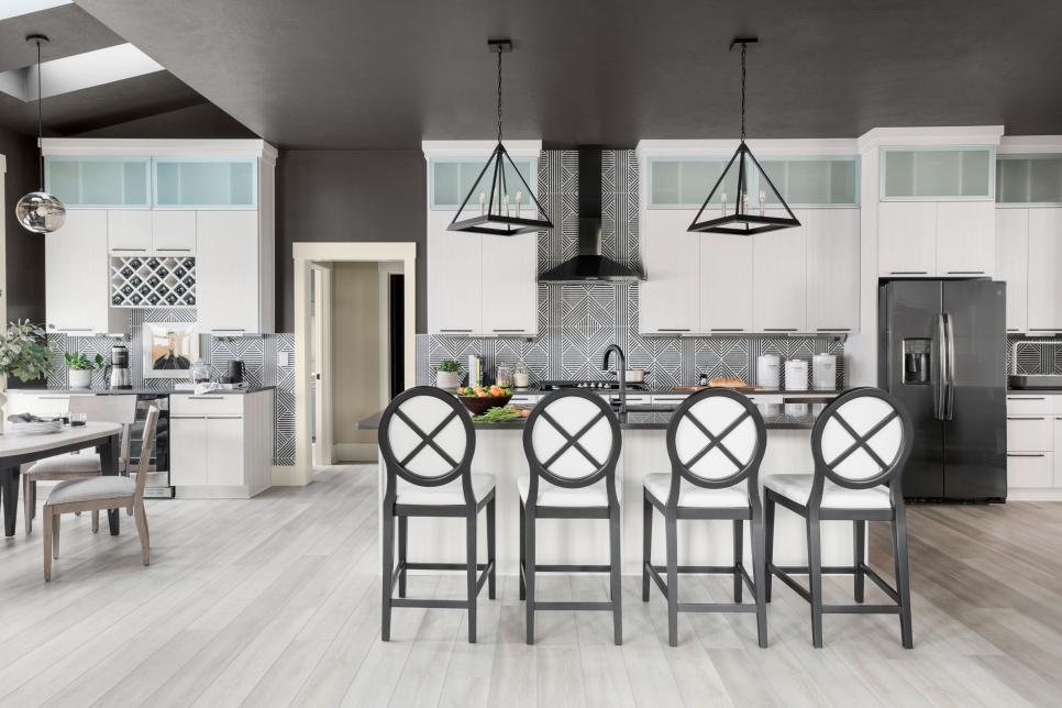 Vinyl is becoming more and more popular in kitchens nowadays. Source: HGTV