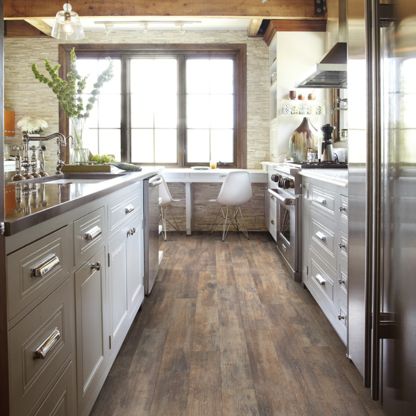 There are many different laminate options to go for. Source: Architectural Digest