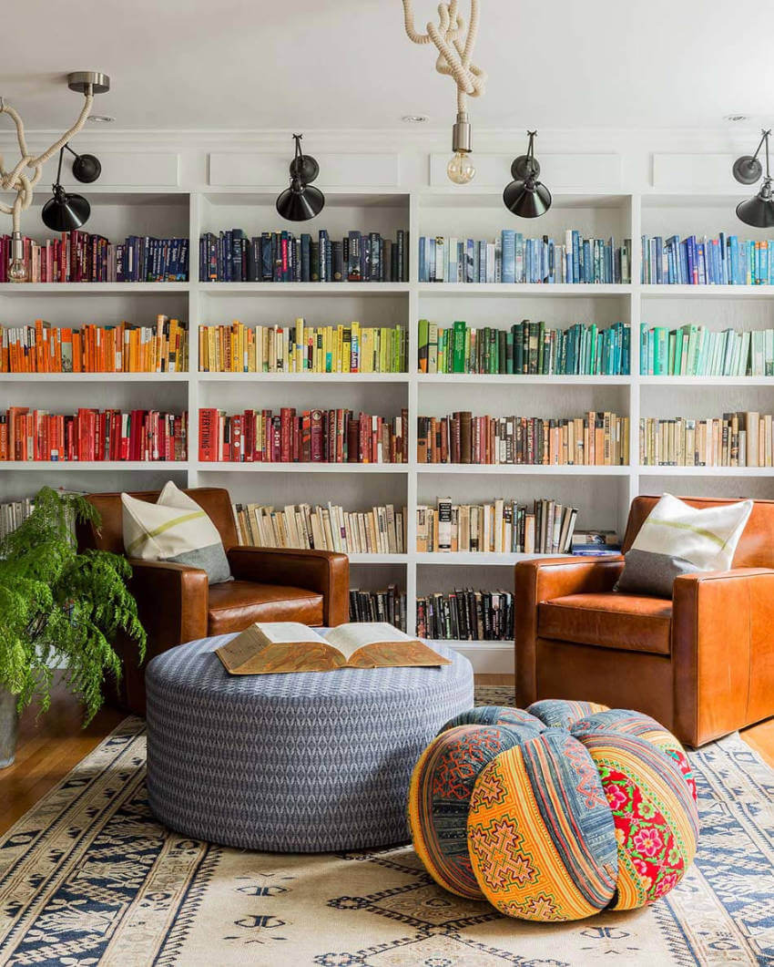 Color-coded books